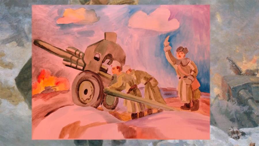 Конкурс детских рисунков «Дети рисуют войну»