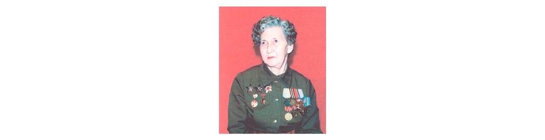 Ричняк Нина Тимофеевна, лейтенант в отставке