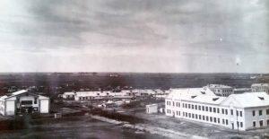 Вид на поселок Чкалова. 1945 год