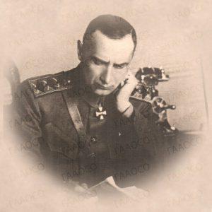 Фотопортрет А.В. Колчака, г. Омск, октябрь 1919 г. (ГААОСО. Ф. Р-1. Оп. 2. Д. 34915. Л. 54)