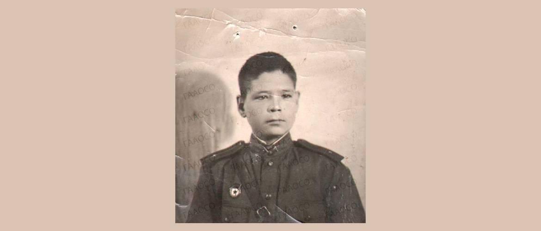 Фотография Якова Ивановича Подкорытова. г. Казань. 3 января 1944 года