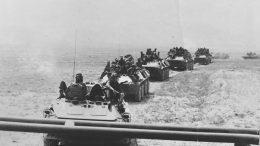Выдвижение батальона в район выполнения боевой задачи, осень 1984 г.