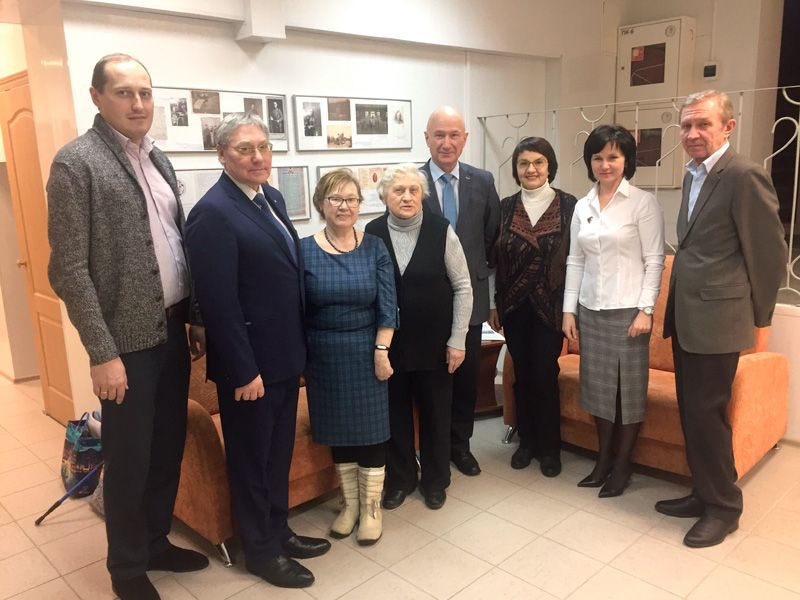 Общее фото участников заседания Общественного Совета. 06.02.2019