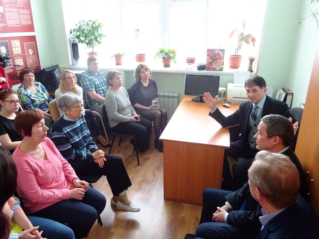 Встреча Игоря Родобольского с коллективом ГААОСО. 01.03.2019