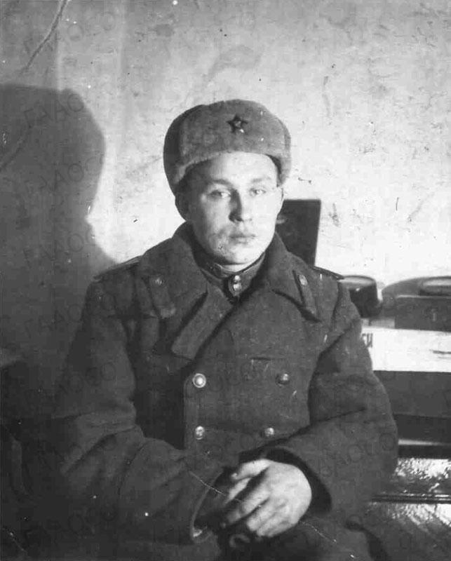 А.Я. Грузков, курсант военного училища. 1944 год.