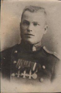 Фотография Георгиевского кавалера Н.Ф. Жданова. (ГААОСО. Ф. Р-1. Оп. 2. Д. 47973. Л. 11)