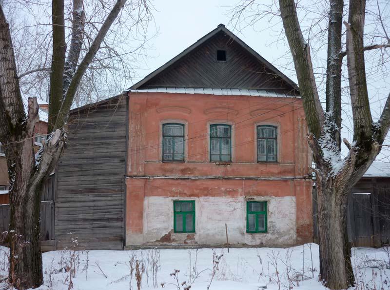 Здание, где размещался Невьянский архив в 1948 г.