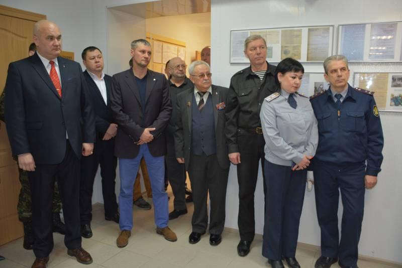"""Открытие выставки """"Профессия - защищать"""""""
