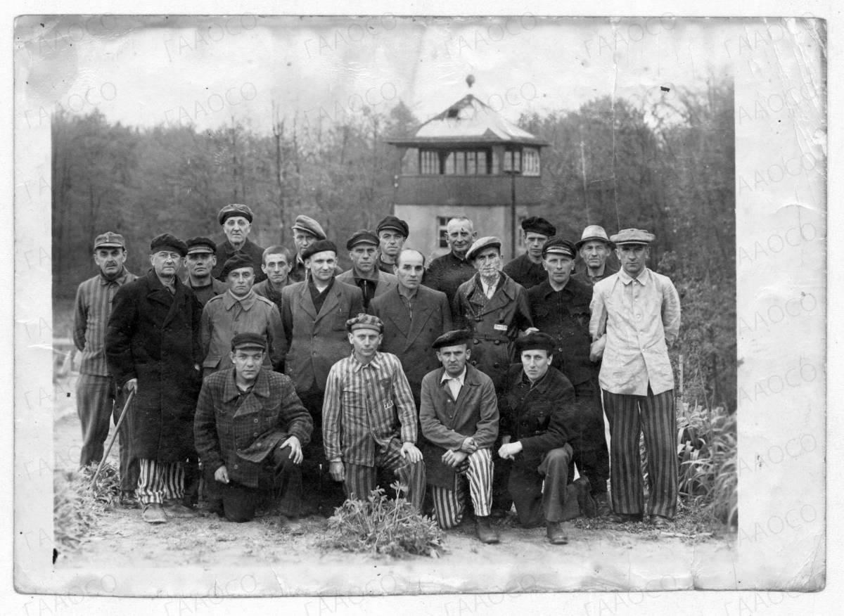 Бывшие военнопленные лагеря Бухенвальд