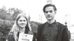 Воспитанники пресс-центра «Синий журавль»