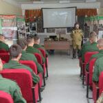 В Екатеринбурге прошло военно-патриотическое мероприятие «Мы победили!» для юнармейцев и детей военнослужащих
