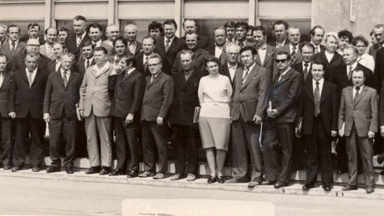 Группа сотрудников треста «Уралмонтажавтоматика»