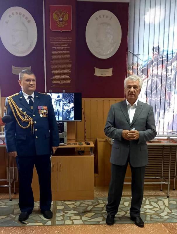 Открытие выставки «Подвиг разведчика»