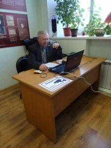 Г.Г. Терехов выступает с докладом